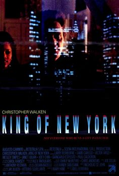 King of New York - Movie Posters
