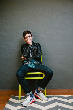 """Kevin McHale Talks Glee & Grief  #refinery29  http://www.refinery29.com/2013/11/57287/kevin-mchale-house#slide-7  What are your favorite date spots in L.A.? """"This may not be romantic to anyone else, but I love In-N-Out and I love planes. And, if you go to the In-N-Out by LAX not during rush hour, and you sit on the grass, and watch the planes take off and eat burgers, I think that's pretty great. I like the Observatory a lot, too. I think the view from there is incredible. I think it's on..."""