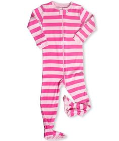"""Leveret (P)Footed """"Striped"""" Pajama Sleeper 6M-3T (New Design, Fall '11) (12-18 Months) - http://www.discoverbaby.com/maternity-clothes/sleepwear/leveret-pfooted-striped-pajama-sleeper-6m-3t-new-design-fall-11-12-18-months/"""