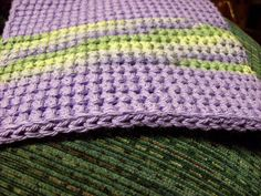 Crochet~ How to make Double Thick Single Crochet Potholders ~ Free Pattern