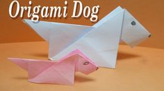 Origami Dog Tutorialeasy For Kidsdiy How To Make An Easy Paper