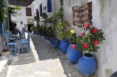 Αμοργός ~ Amorgos  ώρα σιέστας ~ siesta hou