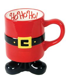 Take a look at this Santa Feet 20-Oz. Mug by Dennis East International on #zulily today!
