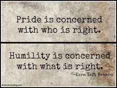 Humility is so attractive!