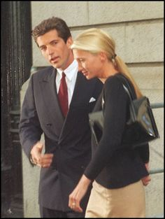John Fitzgerald Kennedy Jr. Pictures from New York Times Obituary and Memorial