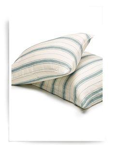 Vineyard stripe standard pillow case