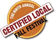 Certified Local Fall Festival: Saturday November 9, 10 am - 4 pm. Portland Parkway, Phoenix.