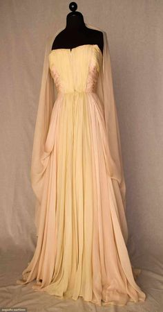 Castillo For Arden Pastel Ballgown, 1948, Augusta Auctions, November 10, 2010 - St. Pauls - NYC, Lot 362