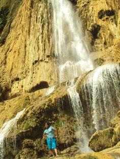 Water falls in the Philippines