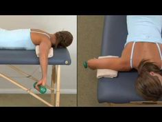 Rotator Cuff Subscapularis Strengthening - good for snapping scapula syndrome… Frozen Shoulder Exercises, Shoulder Rehab, Rotator Cuff Tear, Physical Therapy Exercises, Craniosacral Therapy, Trigger Point Therapy, Massage Techniques, Scapula, Bodybuilding Motivation