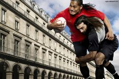 Doing it big on and off the field! Alesana Tuilagi
