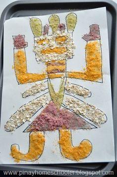 North America study - Art Navajo Cheerios