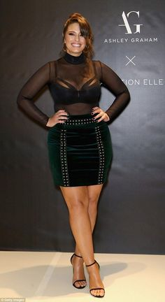 9 plus size style lessons to learn from ashley graham plus size