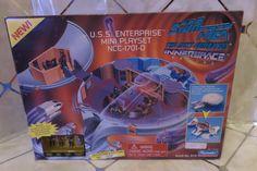 1995 Star Trek U.S.S.ENTERPRISE Mini Playset NCC-1701-D - Collector's Ed #144457…