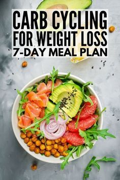 Carb Cycling for Weight Loss Carb cycling can be an effective and easy tool for losing weight for women and for men alike, and we're sharing our favorite carb cycling meal plan, which is chock full of ideas and low carb recipes to help you get a l 7 Day Meal Plan, Keto Meal Plan, Diet Meal Plans, Get Lean Meal Plan, Meal Prep, Weight Loss Meal Plan, Diet Plans To Lose Weight, Losing Weight, Low Carb Recipes