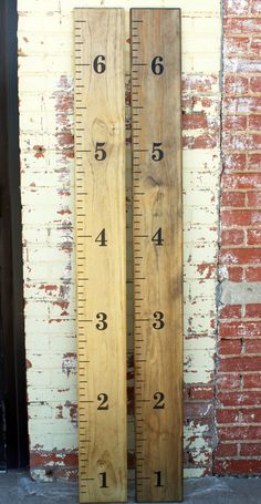 Growth Chart Ruler  DIY Vinyl Decal  by LittleAcornsByRo on Etsy, $9.99