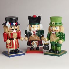 United Kingdom Nutcrackers, Set of 3 | World Market