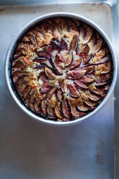 Yotam Ottolenghi's Fig, Yogurt, and Almond Cake with Extra Figs Lemon Fire Brigade Fig Recipes, Sweet Recipes, Baking Recipes, Cake Recipes, Dessert Recipes, Dessert Ideas, 13 Desserts, Delicious Desserts, Yummy Food