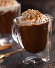 Gorąca korzenna czekolada #lidl #przepis #czekolada #korzenna Love Eat, Lidl, I Foods, Hot Chocolate, Latte, Nom Nom, Paleo, Pudding, Ice Cream