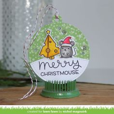 Lawn Fawn STAMPtember Exclusive SET LF15SETMCM CHEESY HOLIDAYS Clear Stamps and Dies at Simon Says STAMP!