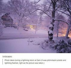 Wow! The power of lightening!!!