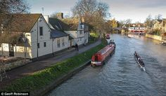 The Fort St George is the oldest pub on the River Cam in Cambridge and features Ingle nook fireplaces and old oak beams