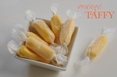 I have an interesting relationship with taffy. It's not one of my favorite candies (like this or this), but there's something about the chewy confections that Homemade Taffy, Homemade Candies, Yummy Treats, Sweet Treats, Yummy Food, Fun Food, Candy Recipes, Dessert Recipes, Taffy Recipe