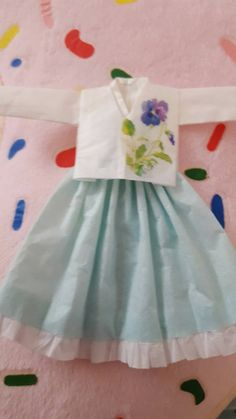 Check out this item in my Etsy shop https://www.etsy.com/listing/513642709/handmade-tissue-paper-hanbok-dress