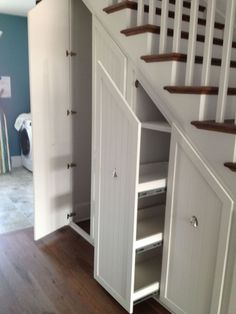 Awesome Cool Ideas To Make Storage Under Stairs 63