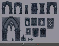 The Art of Darksiders II, Dead Plains, Archways, Pillars, and Windows