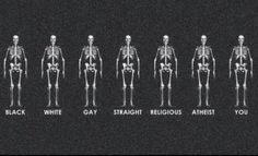 We are equal.