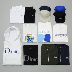 Introducing @dimemtl straight from Montreal, Canada. Dime's fun-loving approach to skateboarding is reflected in their apparel and video clips. This collection features every thing from rugby shirts and polo's to an Alltimers collab. Shop it through the link in our profile or find it in stores now! #alldimers #dimemtl