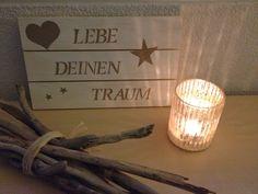 Wohnbrise: Holz Deko, Holz Bild