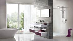 Aubergine bathroom furniture from Utopia Bathrooms. Bathroom Furniture, Furniture Decor, Bathrooms, Bathtub, Colours, Autumn, Inspiration, Standing Bath, Biblical Inspiration