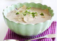 Ner i vikt med härliga soppor – 50 smala recept! | MåBra Ravioli, Tortellini, Lchf, Healthy Recipes, Healthy Food, Pudding, Desserts, God, Inspiration