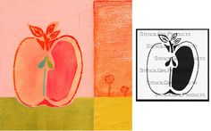 The new Farmhouse Apple stencil by Cathy Nichols | StencilGirl Products