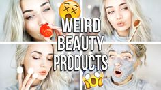 TESTING WEIRD BEAUTY PRODUCTS & TOOLS