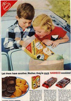 Nabisco Cookie Magazine Ad   Flickr - Photo Sharing!