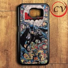 Comic Batman Samsung Galaxy S6 Case