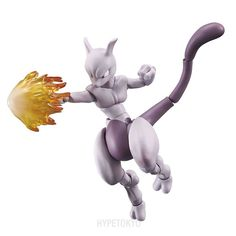 POKKEN TOURNAMENT VARIABLE ACTION Series Action Figure : Mewtwo