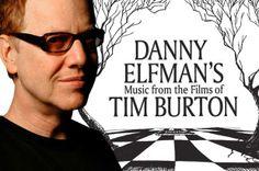 FAHRENEHITº RECOMIENDA: DANY ELFMAN Y LA MÚSICA DE LAS PELÍCULAS DE TIM BURTON EN EL AUDITORIO