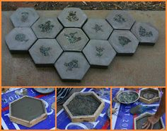 DIY Garden Stepping Stones Follow Us on Facebook -->> http://www.facebook.com/UsefulDiy