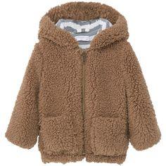 Faux-Shearling Bomber Jacket (€31) ❤ liked on Polyvore featuring outerwear, jackets, faux shearling jacket, blouson jacket, sherpa fleece jacket, hooded bomber jacket and mango jackets