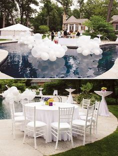 How to throw a white out party, get our tips on hosting this timeless and elegant affair. Hadley Court Interior Design blog