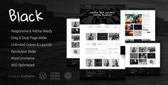 Black - Premium Multi-Purpose WordPress Theme by annabalashova   Extended Feature ListWordPress 3.9.1 Responsive DesignRetina display readyHTML5 & CSS3 CodeHigh Speed & Extra OptimizedCod