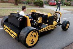 LEGO Hot Rod: 500,000-Piece Working Replica Runs on Air
