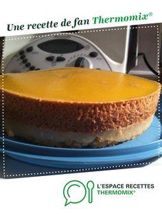 entremet poire caramel par nany_11. Une recette de fan à retrouver dans la catégorie Pâtisseries sucrées sur www.espace-recettes.fr, de Thermomix<sup>®</sup>.
