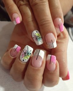 Gorgeous Nails, Pretty Nails, Acrylic Nail Designs, Acrylic Nails, Gucci Nails, Cute Simple Nails, Nagellack Design, Semi Permanente, Finger
