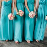 Feel These Floor Length Teal Maxi Dresses Paired Sandals