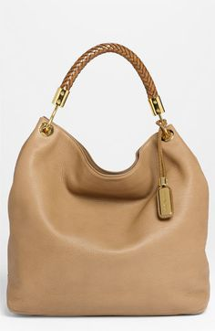 Michael Kors 'Skorpios - Large' Leather Hobo available at #Nordstrom  Outrageously expensive  - but maybe if I win the lottery ...